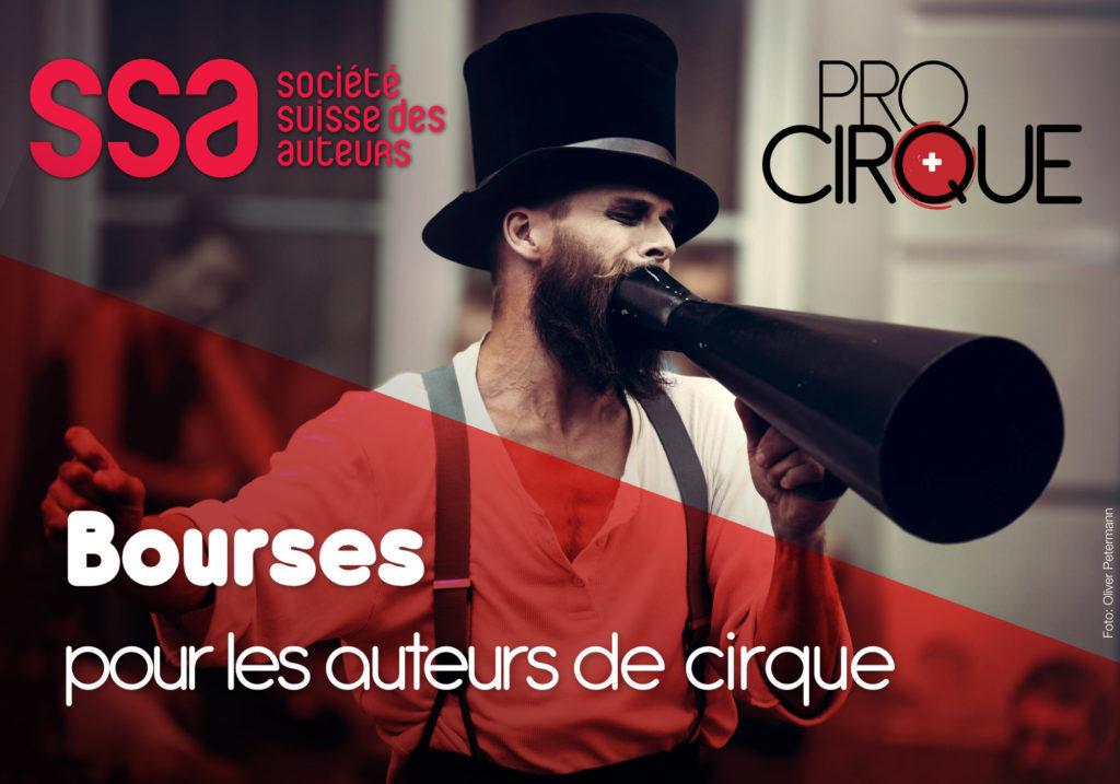 Bourse pour les auteurs des arts du cirque