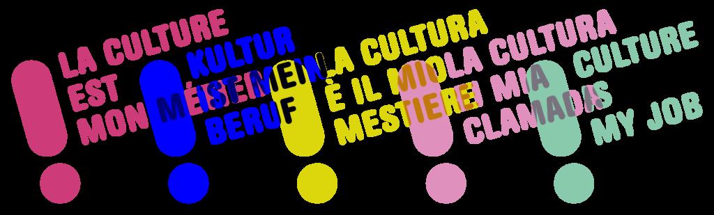 Culture is my job! La culture est mon métier! Kultur ist mein Beruf!