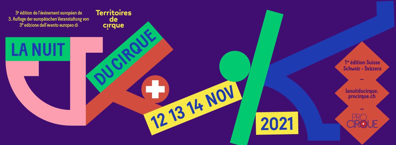 La Nuit du Cirque - 12,13,14 Nov. 2021